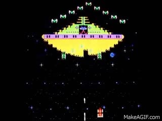 Watch Phoenix 1980 arcade video game GIF on Gfycat. Discover more related GIFs on Gfycat