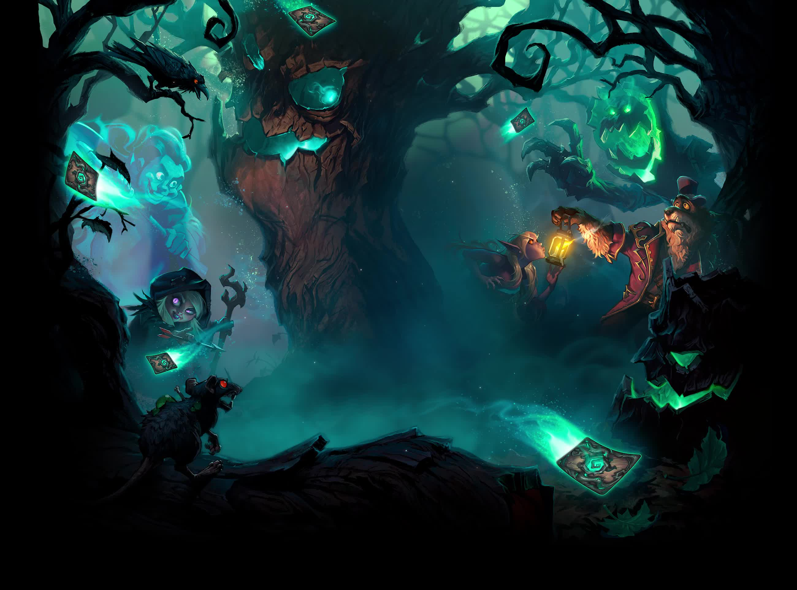 HearthStone The Witchwood GIFs