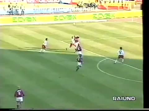 Watch and share SIGNORI - Bologna V Milan, 1998/99 GIFs on Gfycat