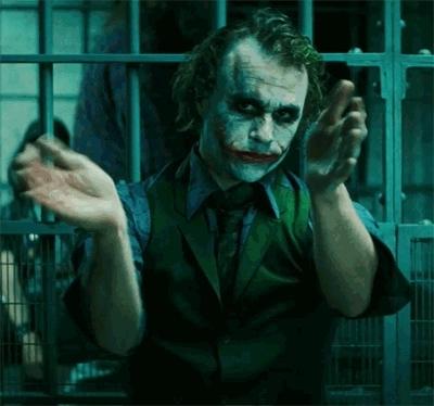 applause, clap, clapping, heath ledger, slow clap, slowclap, the joker, Heath Ledger Slow Clap GIFs