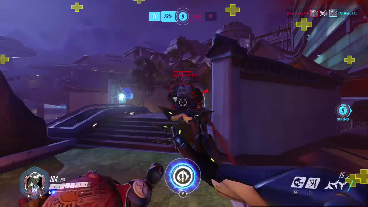 genjimains, overwatch, Bubba Bishop playing Overwatch: Origins Edition GIFs