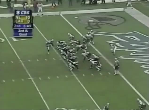 Watch and share 5 McGinest Sacks Weinke For -9yd GIFs on Gfycat