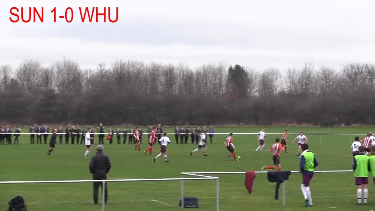 SAFC, Scholars, cup, nyfl, sunderland, Sunderland FoL Scholars 5-3 West Ham | Highlights GIFs