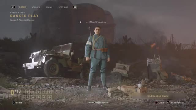 Watch Call of Duty®: WWII_20171201235543 GIF on Gfycat. Discover more PS4share, Call of Duty®: WWII, Charskyy, PlayStation 4, Sony Interactive Entertainment GIFs on Gfycat
