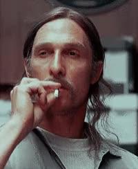 truedetective, Smoking true detective GIFs