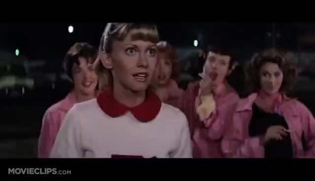 Watch sandy GIF on Gfycat. Discover more grease GIFs on Gfycat
