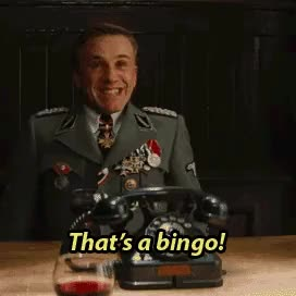 Watch and share Inglourious Basterds GIFs and Christoph Waltz GIFs on Gfycat