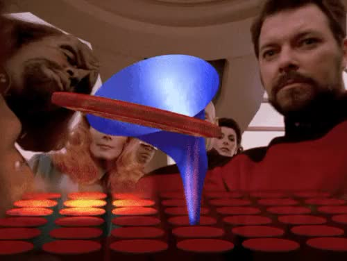 Watch and share Vintage Television GIFs and Star Trek Gif GIFs on Gfycat