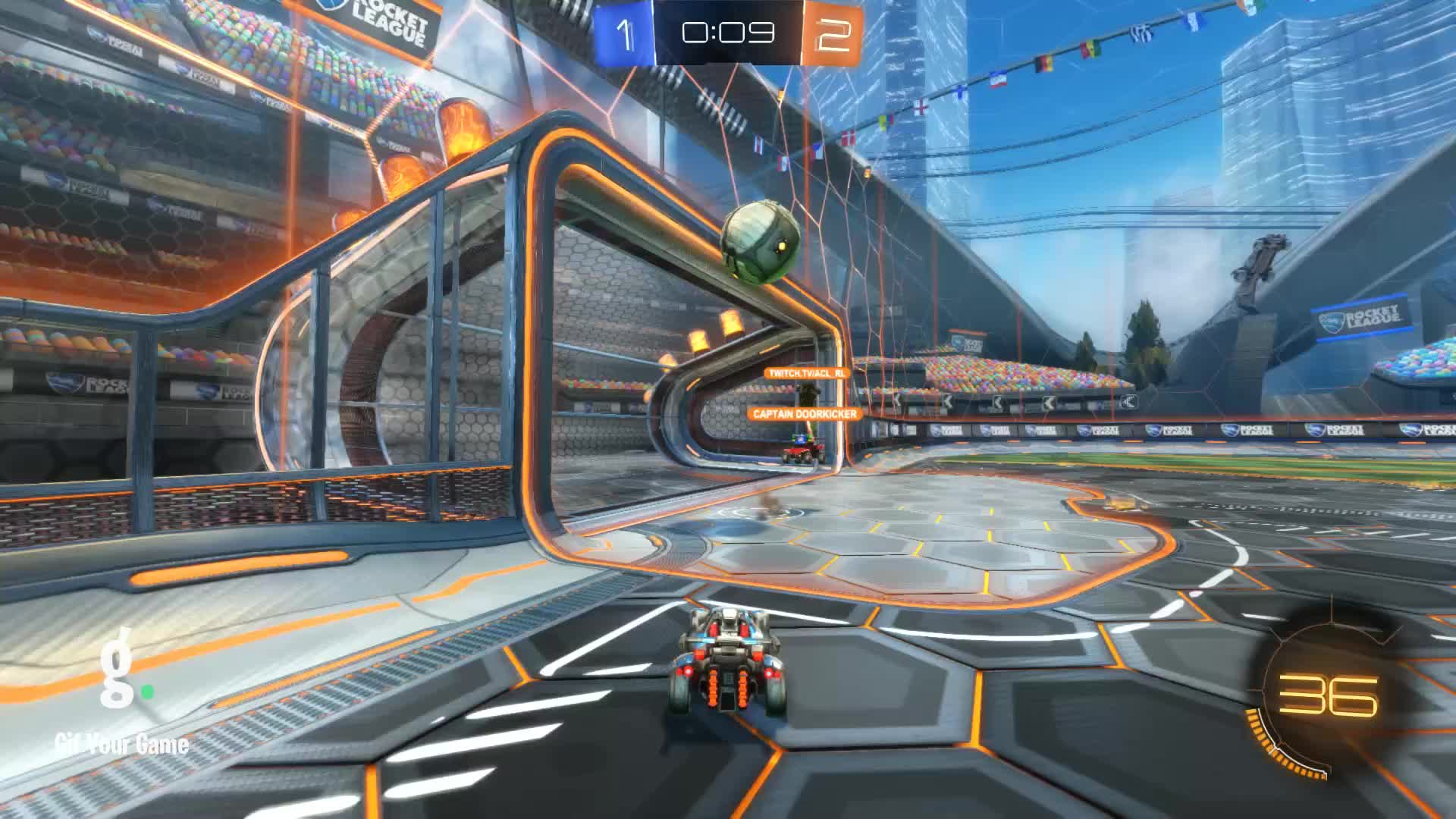 Gif Your Game, GifYourGame, RicePowah^-^, Rocket League, RocketLeague, Save, Save 9: RicePowah^-^ GIFs