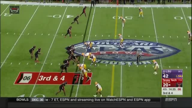 Watch Texas Bowl 2015 Full highlights - LSU vs Texas Tech GIF on Gfycat. Discover more lsu vs texas tech, lsu vs texas tech 2015, lsu vs texas tech full game GIFs on Gfycat