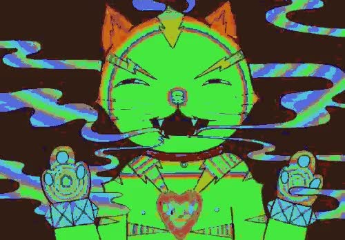 Watch and share Trippy Cat GIFs on Gfycat