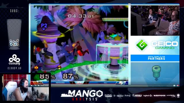 Mang0 Analysis - S2J/Mew2King Shine 2017: Weekly Melee Analysis