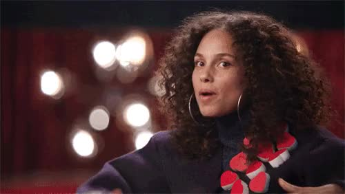 Watch and share Alicia Keys Television Gif GIFs on Gfycat