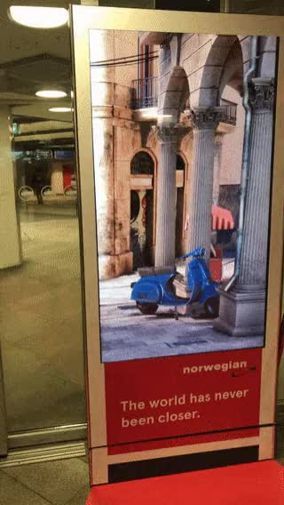Watch and share This Interactive Ad In Oslo GIFs on Gfycat