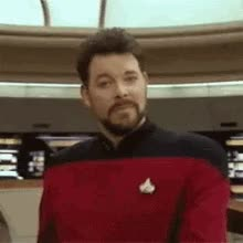 Watch Creep Riker GIF on Gfycat. Discover more jonathan frakes GIFs on Gfycat