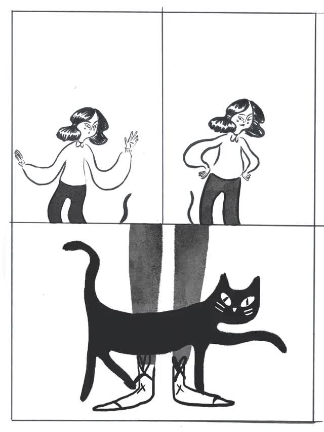 Watch and share FOR PHONE Cat Girl Comic GOOD (Converted) GIFs on Gfycat
