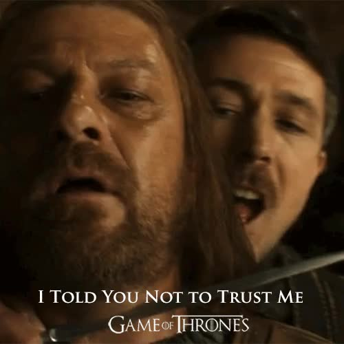 Watch and share Littlefinger Betrays GIFs on Gfycat