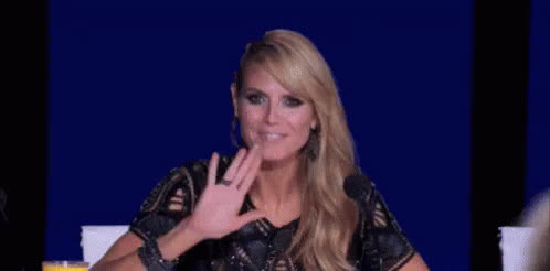 heidi, heidi klum, model, supermodel, Heidi Klum Goodnight GIFs