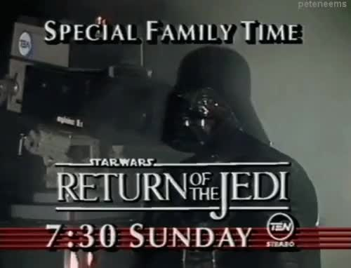 Watch and share Return Of The Jedi GIFs and Darth Vader GIFs on Gfycat