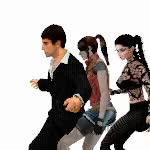Watch and share Ruan Matheus Dancing With Claire Redfield Along With The Other Woman GIFs on Gfycat