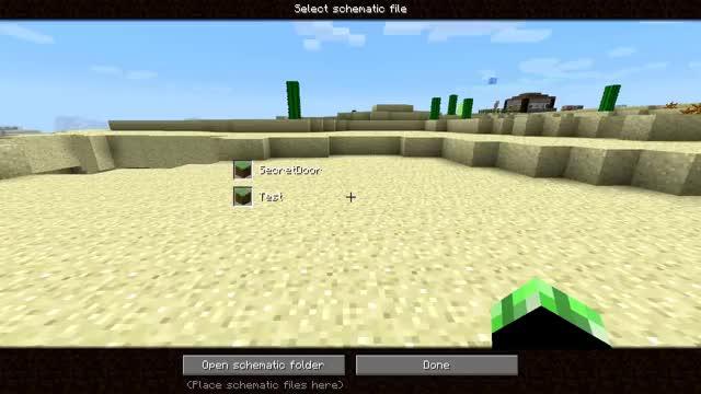 Minecraft schematica