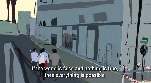 Watch and share Richard Linklater GIFs and Waking Life GIFs on Gfycat