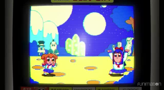 Watch this pop team epic GIF by Funimation (@funimation) on Gfycat. Discover more anime, cheesy, fighting game, funimation guilty gear, funny, pop team epic, pop team epic episode 8 GIFs on Gfycat