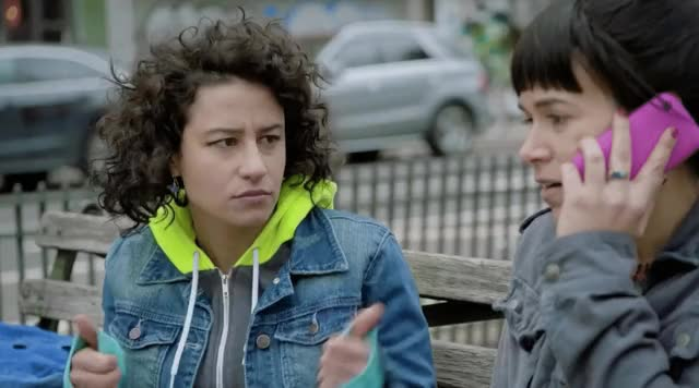 Watch this trending GIF by The GIF Smith (@sannahparker) on Gfycat. Discover more broad city, cool story bro, ilana glazer, nice, ok, season 4, thumbs up, yes GIFs on Gfycat