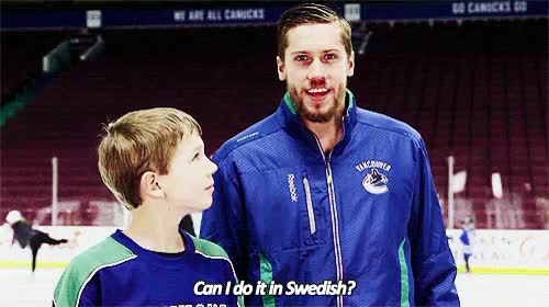 Watch and share Vancouver Canucks GIFs and Jacob Markstrom GIFs on Gfycat