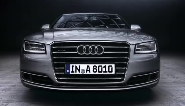 Watch and share Audi A8. Modelo 2014. Luces Audi Matrix LED GIFs on Gfycat