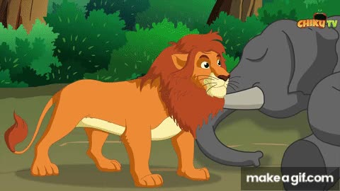 Panchatantra Moral Stories for Kids Malayalam Cartoon (1) GIF by