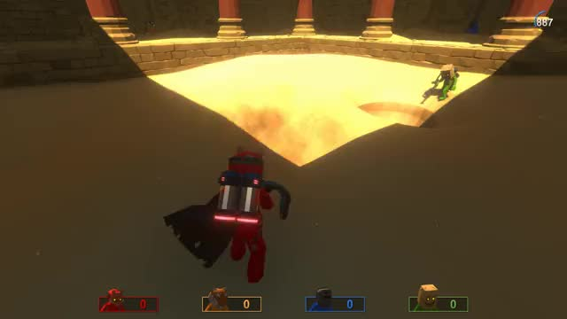 Watch Pummel Party Voxel Digging GIF by RebuiltGames (@rebuiltgames) on Gfycat. Discover more gamdev, indiedev, indiegame, unity GIFs on Gfycat