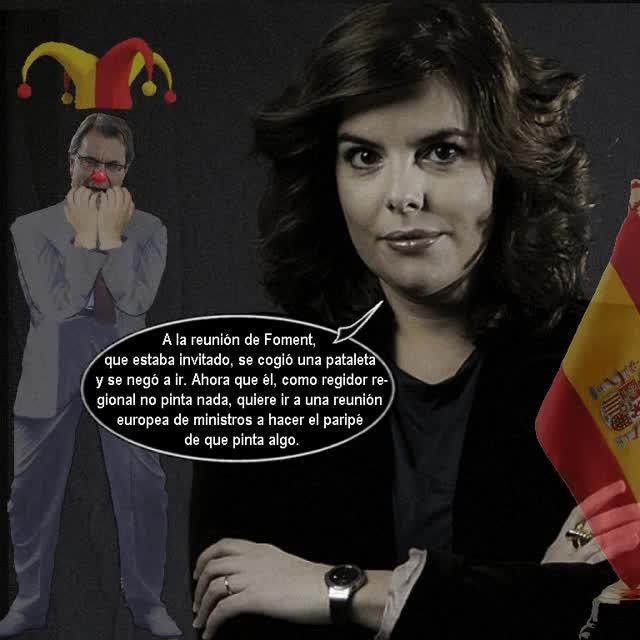 Watch and share ANIMADO Otra Patetica Infantil Pataleta De Artur Mas GIFs on Gfycat