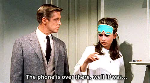 Watch this breakfast at tiffanys GIF on Gfycat. Discover more 1960s, audrey hepburn, breakfast at tiffany's, breakfast at tiffanys, film, george peppard, my gif, x60s, xaudreyhepburn, xbat GIFs on Gfycat