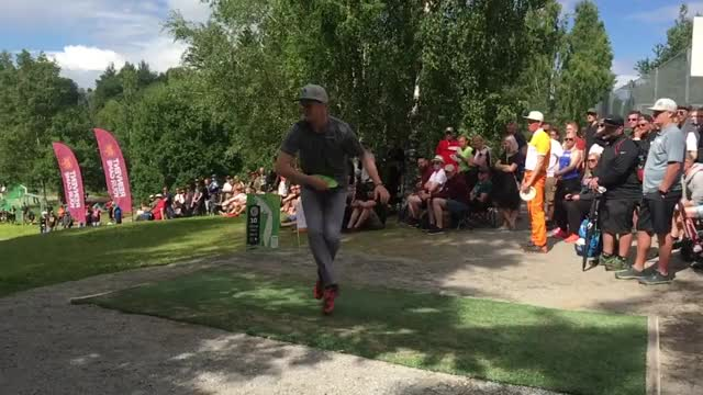 Watch and share Cowabunga Disc Golf GIFs and European Open GIFs by brokejoke on Gfycat