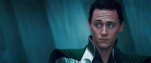 Tom Hiddleston, side eye, side glance, Side Glance GIFs