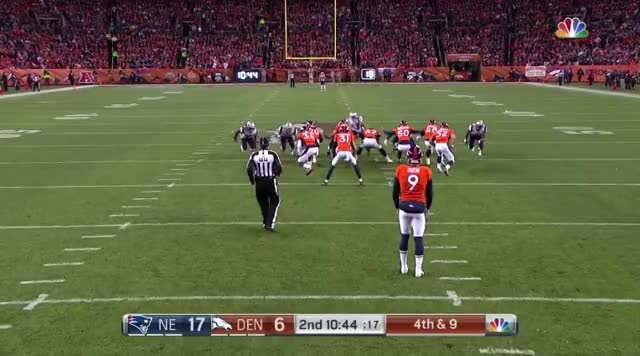Watch and share 9 Burkhead Blocks A Punt.mov GIFs on Gfycat