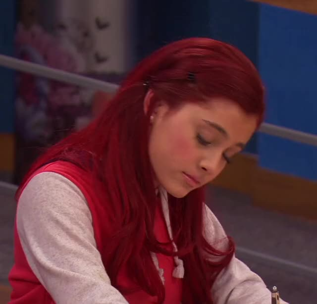 Watch and share Ariana Grande GIFs and Cat Valentine GIFs by Quacksterz on Gfycat