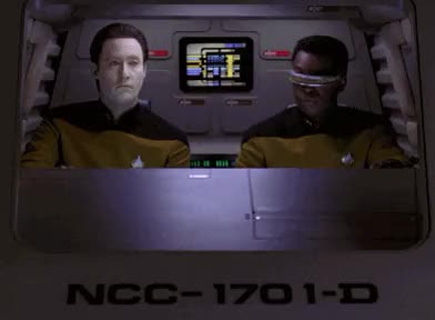 Watch and share The Next Generation GIFs and Geordi La Forge GIFs on Gfycat