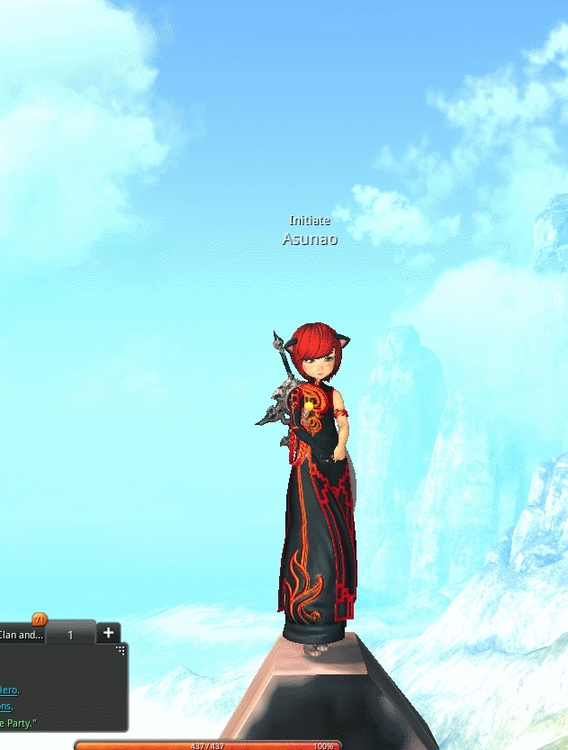 Bladeandsoul, Worth the hour i took to climb it... GIFs