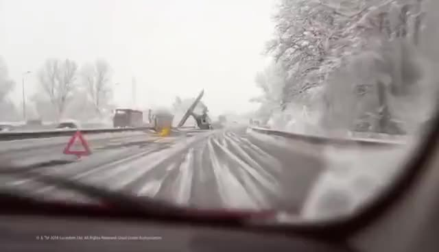 Watch and share Star Wars, Tie Figther Accident  On The Highway GIFs on Gfycat