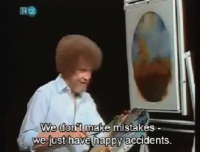 Watch and share Bob Ross Accidents GIFs on Gfycat