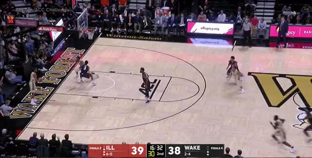 Watch Illini Full Court Defense GIF by @bigtengeeks on Gfycat. Discover more related GIFs on Gfycat