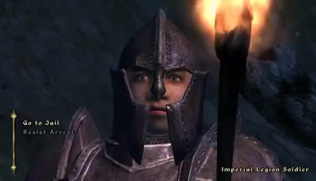 Watch and share Oblivion - Spinning Guard GIFs on Gfycat