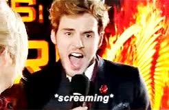 Watch and share Sam Claflin GIFs and Screaming GIFs on Gfycat
