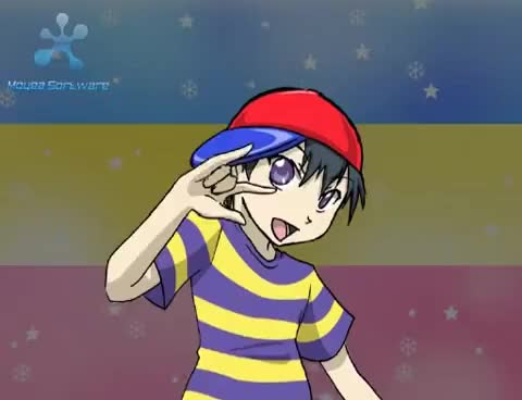 Watch Ness dance GIF on Gfycat. Discover more Earthbound, brawl, bros., brothers, mother 2, smash, ssbb, super GIFs on Gfycat