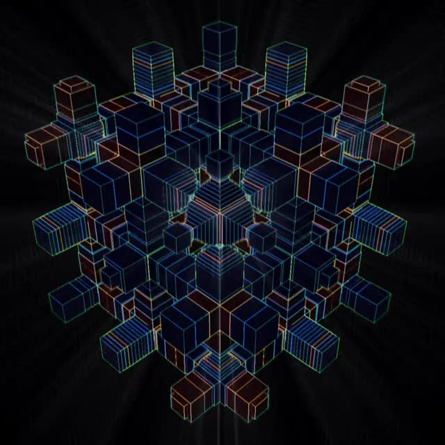 Watch and share Loop Of Pumpen Cube GIFs and Psychedelic GIFs by Nikola Erceg on Gfycat