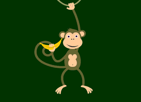 Money, animal, bannana, cheeky, funny, Monkey Card GIFs