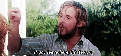 Watch and share The Notebook GIFs and Hate GIFs on Gfycat