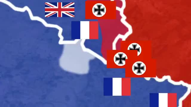 Watch WW2 - OverSimplified (Part 1) GIF on Gfycat. Discover more 1939, America, Bulge, Iwo, Japan, Jima, Okinawa, animation, dunkirk, education, edutainment, explained, germany, happened, map, maps, summarized, uk, what, world GIFs on Gfycat